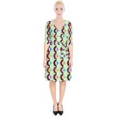 Zappwaits Retro 13 Wrap Up Cocktail Dress by zappwaits