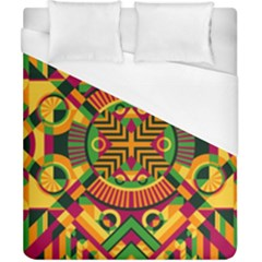Modern Geometric Pattern Duvet Cover (california King Size) by tarastyle