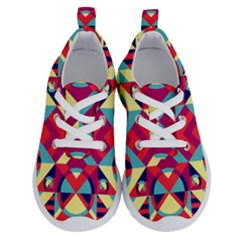 Modern Geometric Pattern Running Shoes by tarastyle