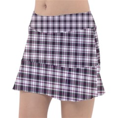 Tartan Pattern Tennis Skirt