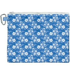 Background Blue Colors Canvas Cosmetic Bag (xxxl)
