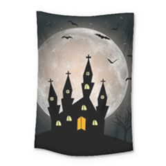 Halloween Illustration Decoration Small Tapestry
