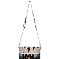 Halloween Illustration Decoration Mini Crossbody Handbag