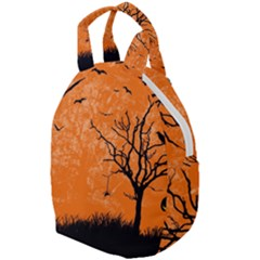 Halloween Illustration Decoration Travel Backpacks by Pakrebo