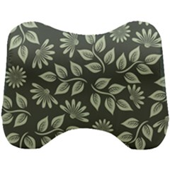 Flowers Pattern Spring Nature Head Support Cushion by Pakrebo