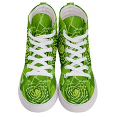 Wurz Houseleek Turmeric Plant Men s Hi Top Skate Sneakers