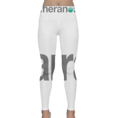 Theranos Logo Classic Yoga Leggings by milliahood