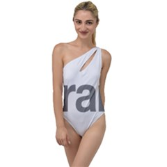 Theranos Logo To One Side Swimsuit by milliahood