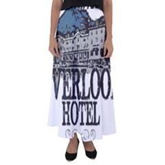The Overlook Hotel Merch Flared Maxi Skirt by milliahood