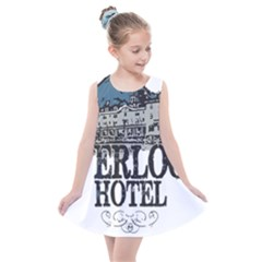 The Overlook Hotel Merch Kids  Summer Dress by milliahood