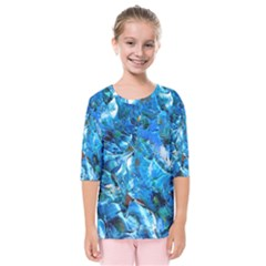 Tropic Kids  Quarter Sleeve Raglan Tee