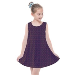 Cute Xoxo Pattern Kids  Summer Dress by tarastyle