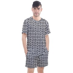 Cute Xoxo Pattern Men s Mesh Tee And Shorts Set by tarastyle