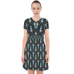 Seamless Pattern Background Black Adorable In Chiffon Dress