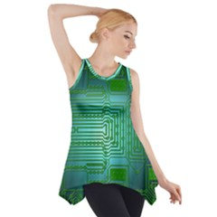Board Conductors Circuits Side Drop Tank Tunic by HermanTelo