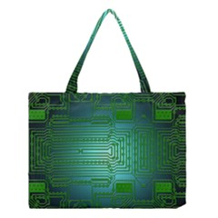 Board Conductors Circuits Medium Tote Bag by HermanTelo