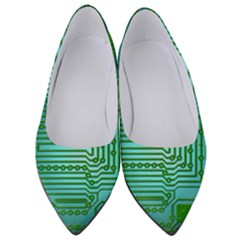 Board Conductors Circuits Women s Low Heels by HermanTelo
