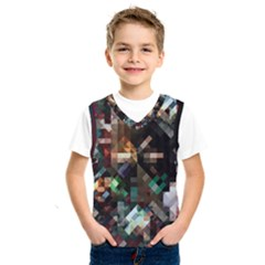 Abstract Texture Desktop Kids  Sportswear by HermanTelo