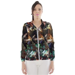 Abstract Texture Desktop Women s Windbreaker by HermanTelo