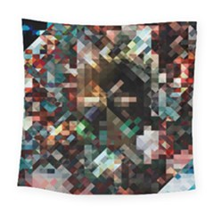 Abstract Texture Desktop Square Tapestry (large)