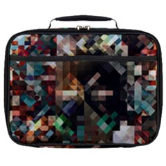 Abstract Texture Desktop Full Print Lunch Bag by HermanTelo
