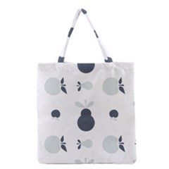 Apples Pears Continuous Grocery Tote Bag by HermanTelo
