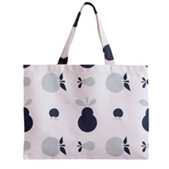 Apples Pears Continuous Zipper Mini Tote Bag by HermanTelo