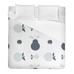 Apples Pears Continuous Duvet Cover (full/ Double Size) by HermanTelo
