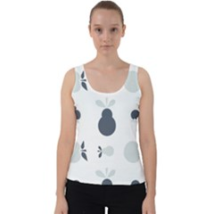 Apples Pears Continuous Velvet Tank Top by HermanTelo