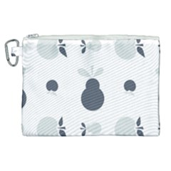Apples Pears Continuous Canvas Cosmetic Bag (xl)
