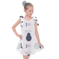 Apples Pears Continuous Kids  Tie Up Tunic Dress