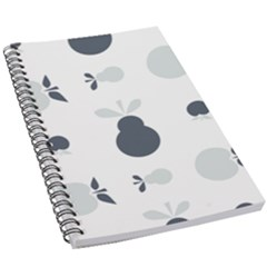 Apples Pears Continuous 5 5  X 8 5  Notebook by HermanTelo