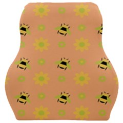 Bee Bug Nature Wallpaper Car Seat Velour Cushion