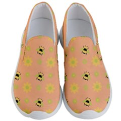 Bee Bug Nature Wallpaper Men s Lightweight Slip Ons