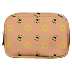 Bee Bug Nature Wallpaper Make Up Pouch (small) by HermanTelo