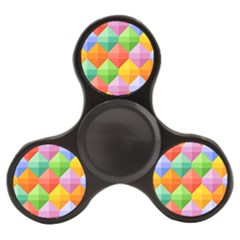 Background Colorful Geometric Triangle Rainbow Finger Spinner by HermanTelo