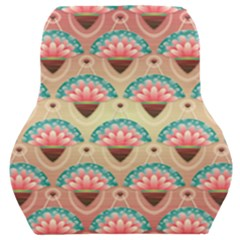 Background Floral Pattern Pink Car Seat Back Cushion