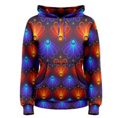 Background Colorful Abstract Women s Pullover Hoodie by HermanTelo