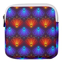 Background Colorful Abstract Mini Square Pouch