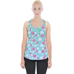 Background Frozen Fever Piece Up Tank Top