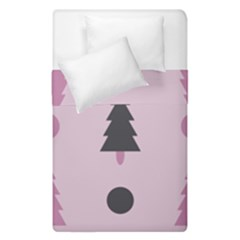 Christmas Tree Fir Den Duvet Cover Double Side (single Size) by HermanTelo