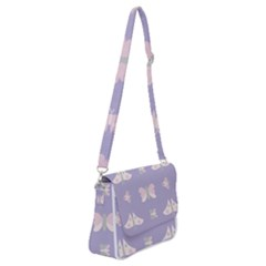 Butterfly Butterflies Merry Girls Shoulder Bag With Back Zipper by HermanTelo