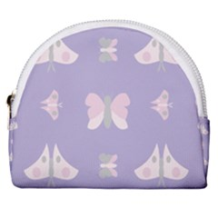 Butterfly Butterflies Merry Girls Horseshoe Style Canvas Pouch by HermanTelo