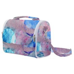Abstract Clouds And Moon Satchel Shoulder Bag by charliecreates