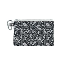 Modern Camouflage Pattern Canvas Cosmetic Bag (small) by tarastyle