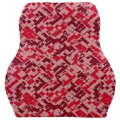 Modern Camouflage Pattern Car Seat Velour Cushion  by tarastyle