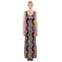 Zappwaits Retro 14 Maxi Thigh Split Dress