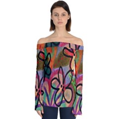 Funky Flowers Abstract Art To Wear by ArtToWear