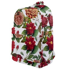 Elegant Vintage Flowers Pattern  Classic Backpack by tarastyle