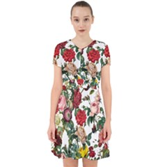 Elegant Vintage Flowers Pattern  Adorable In Chiffon Dress by tarastyle